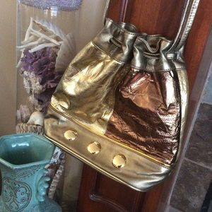 Leprechaun Golden Amazing 80's Crossbody Purse